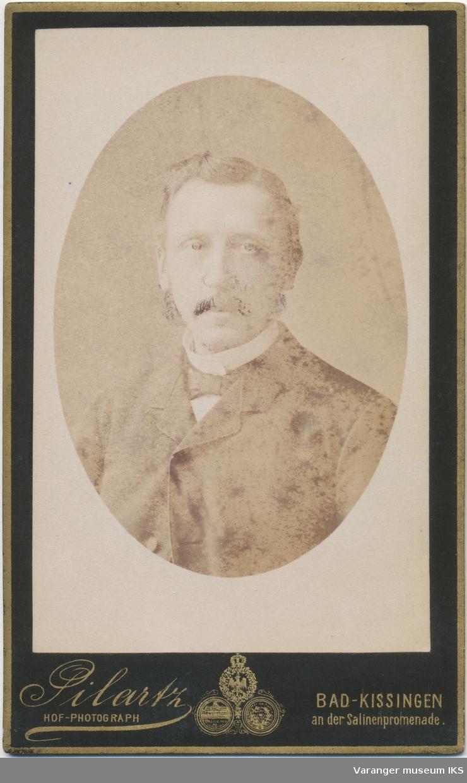 Portrett, Marcus Wøldike Noodt