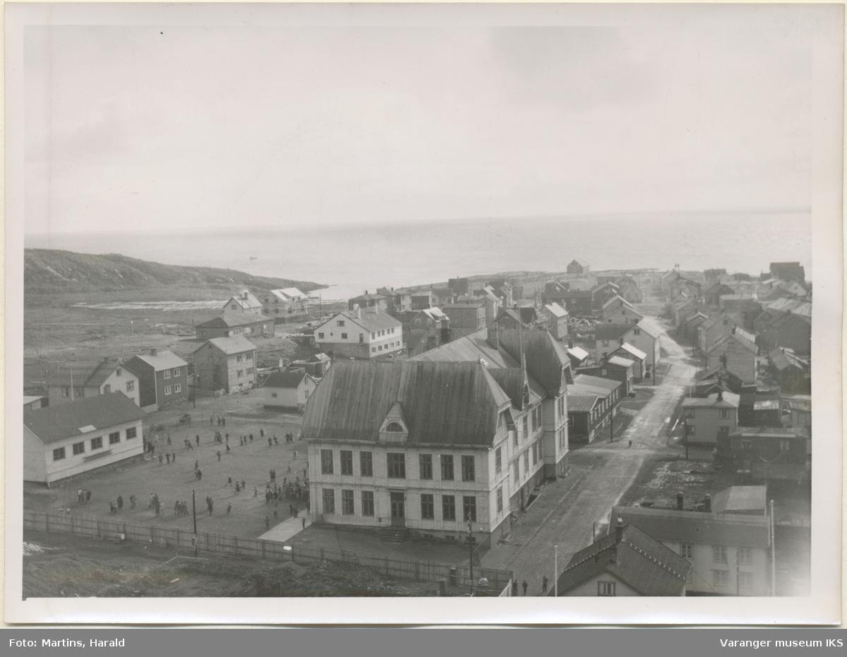 Østervågen, sett fra kirketårnet, 6. september 1956