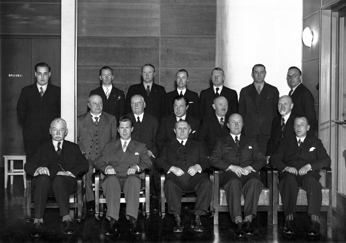 17 menn samlet