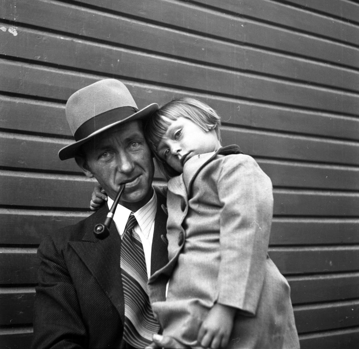 Mann og barn