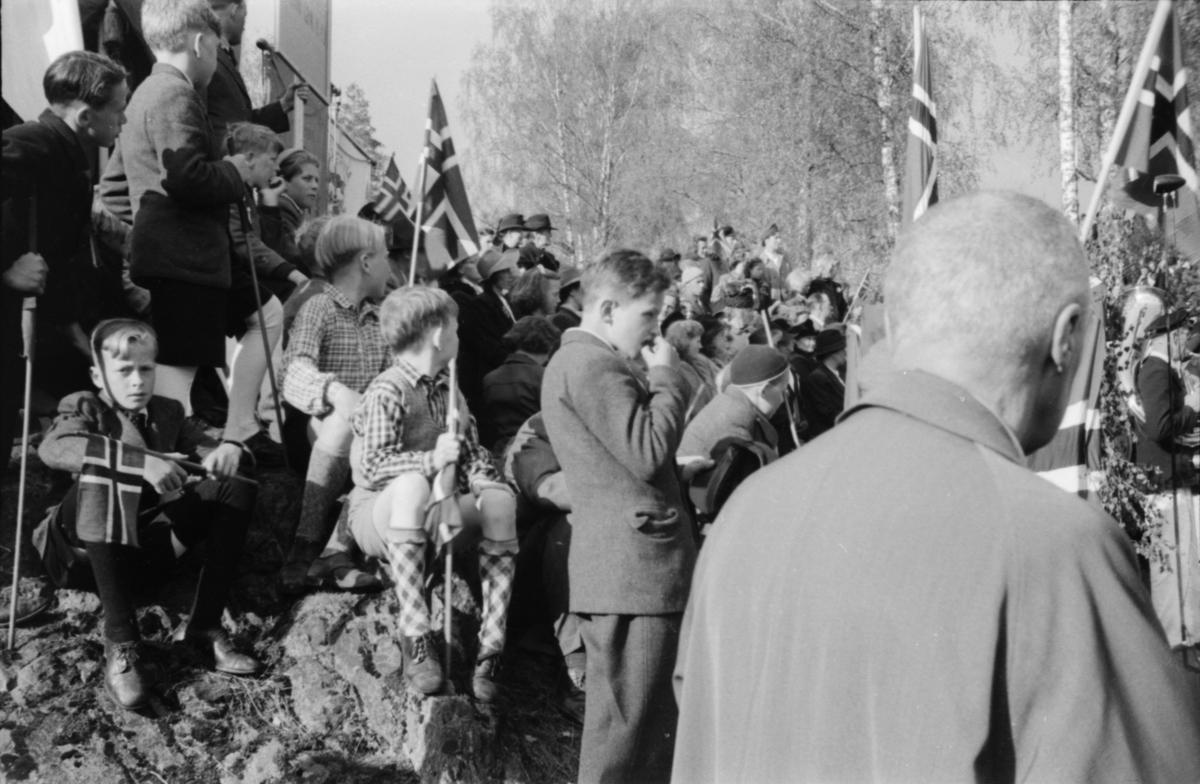 17. mai 1945. Christiansfjeld festning