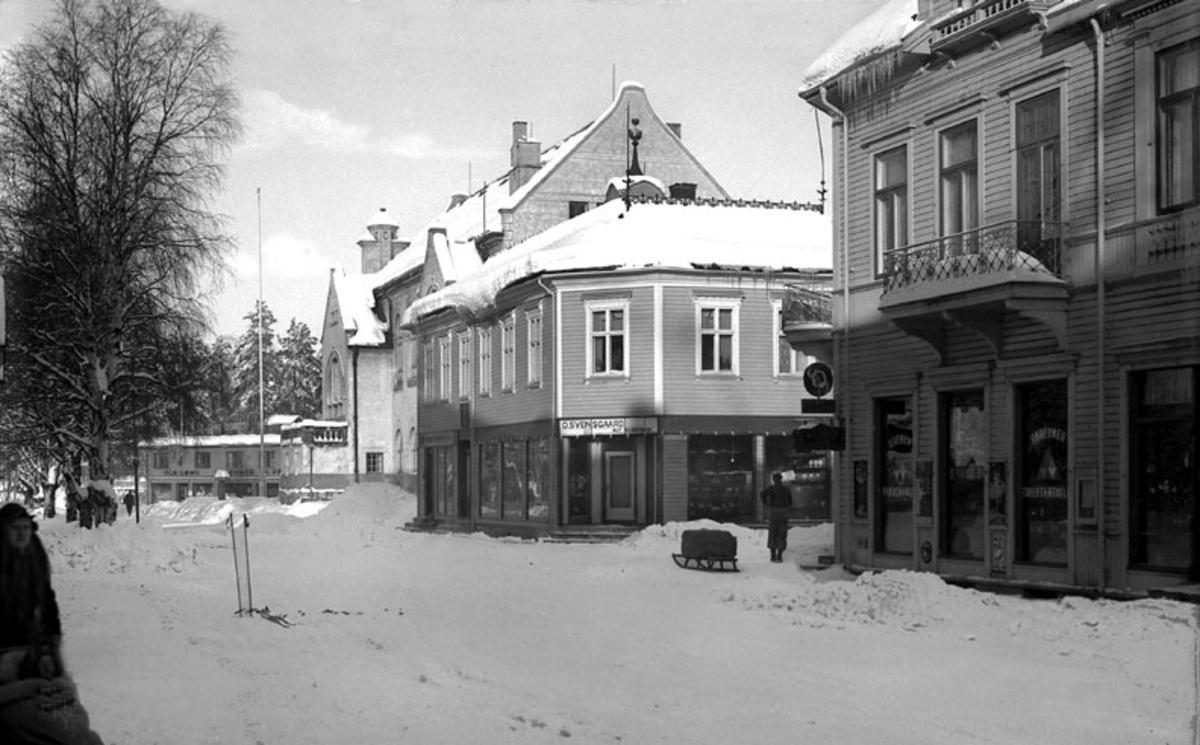 Leiret, 1939, vinter