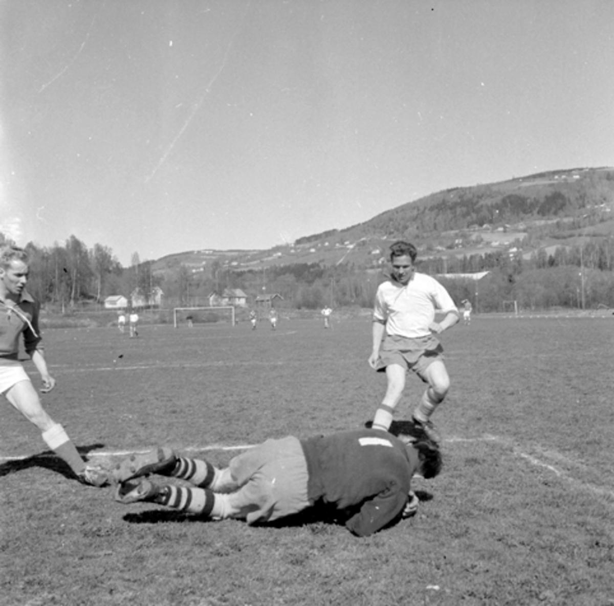 Harry Nilsen, Nes, fotball (Sveum).