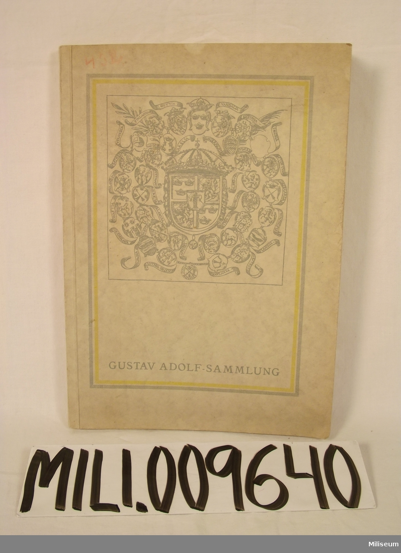Bok, Gustav Adolf-Sammlung av Oskar Planer