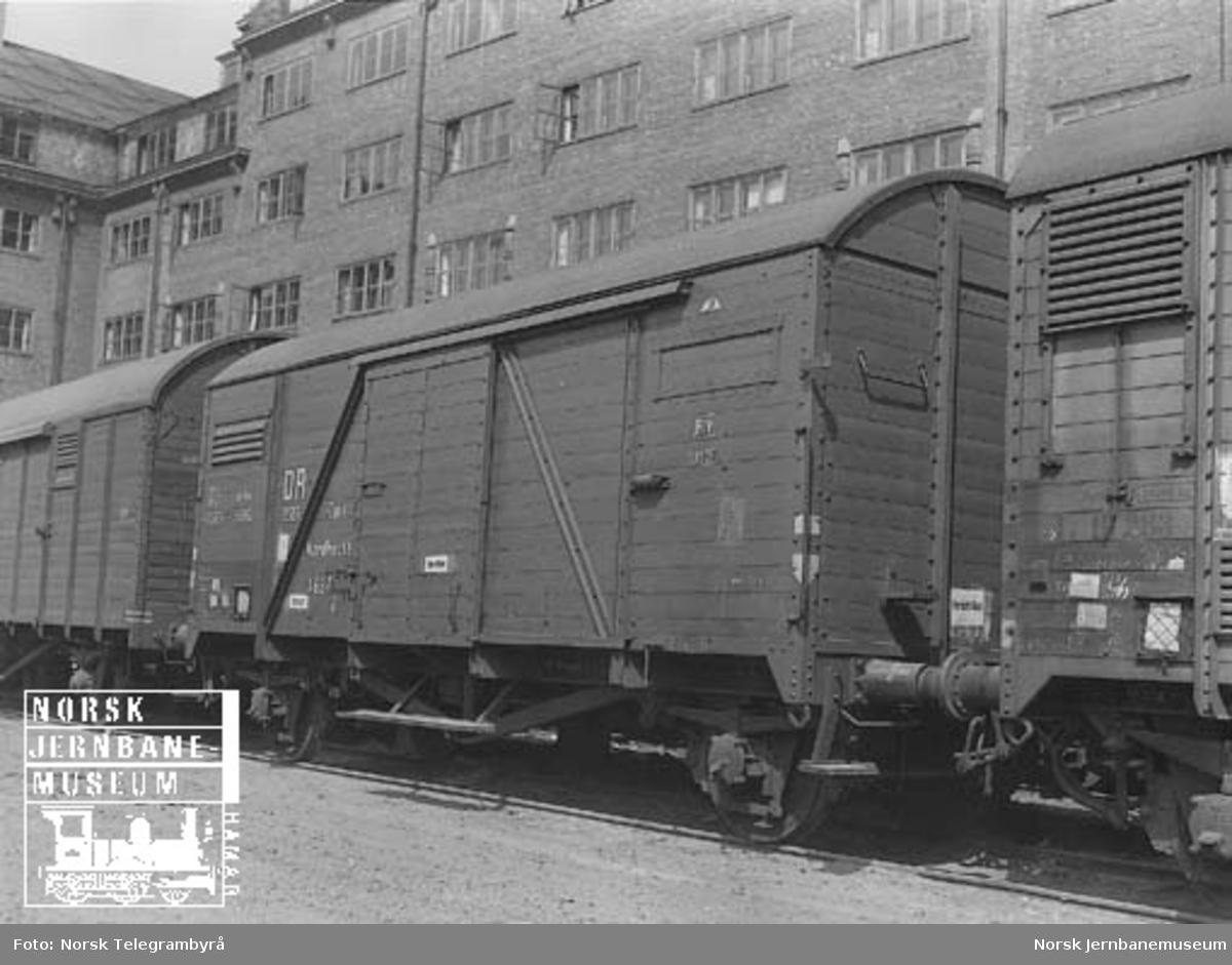 Tysk godsvogn DR-USSR litra G nr. 1637