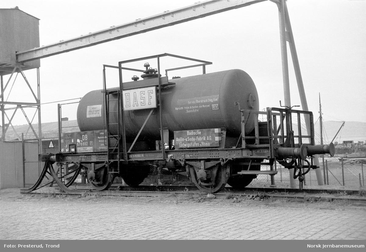 Tysk tankvogn Deutsche Bundesbahn nr. 578882