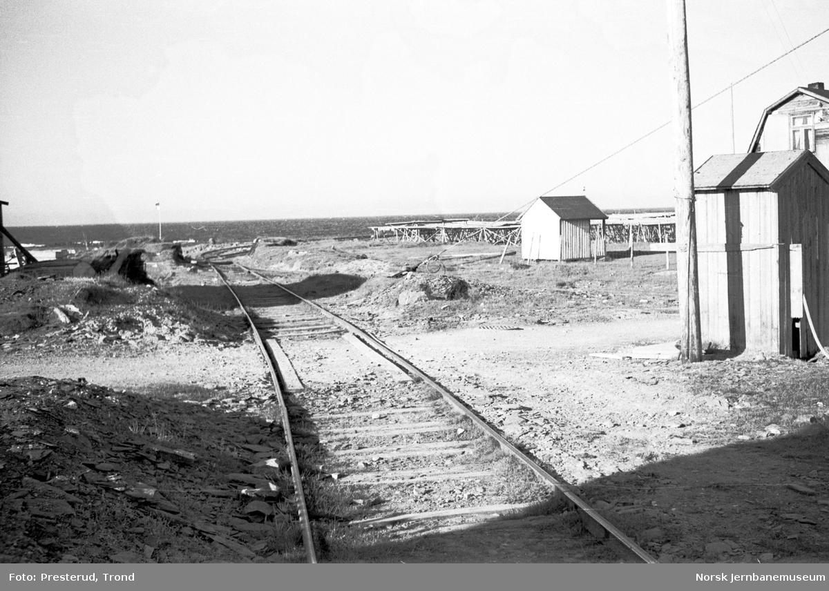 Statens Havnevesens jernbane i Berlevåg