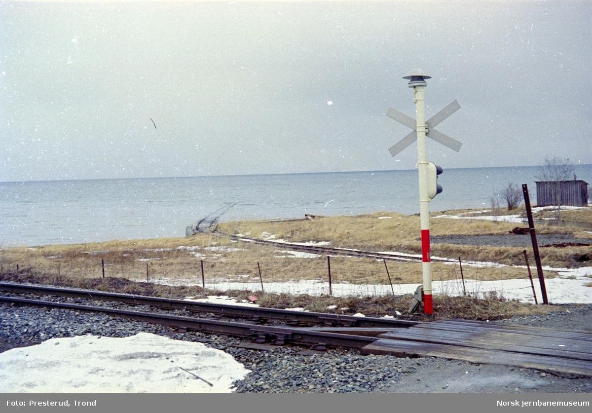 Nedlagte Værestrand sidespor for NVE mellom Ranheim og Være