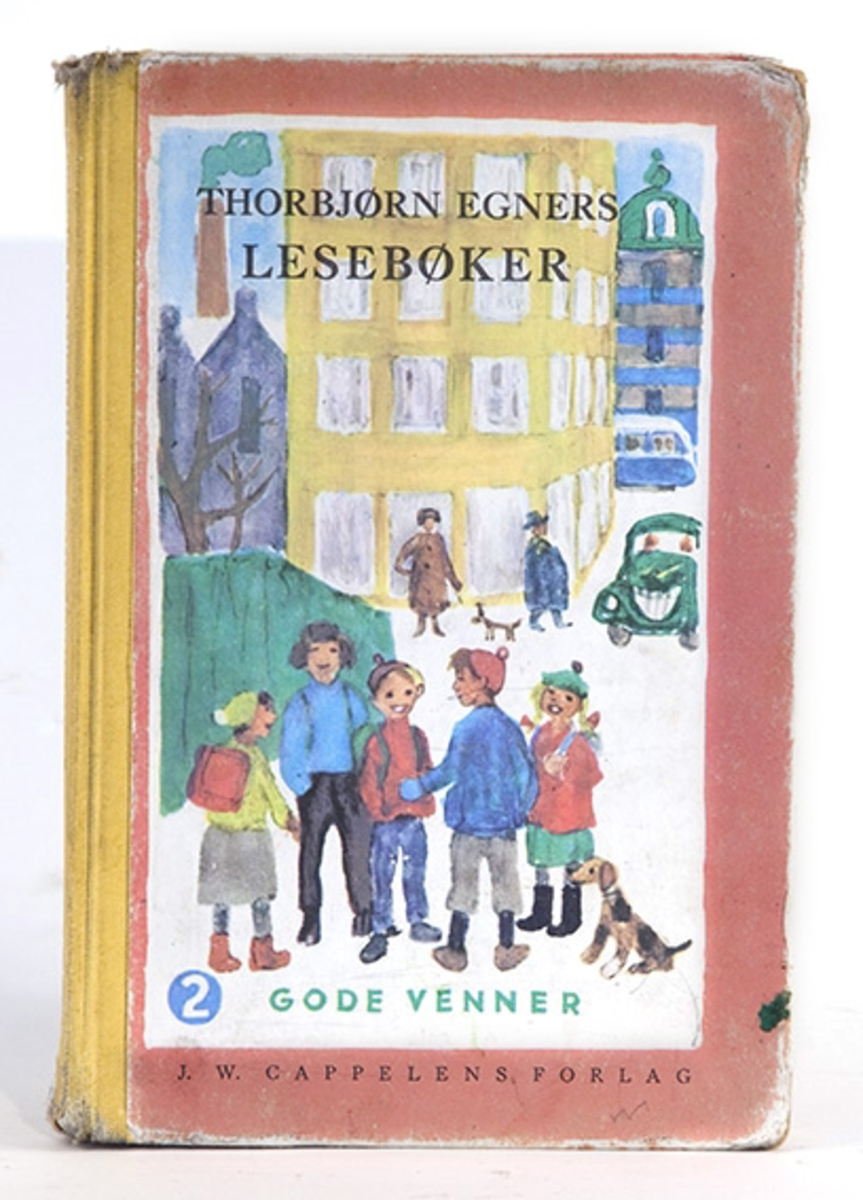 Torbjørn Egners lesebøker.  2. Gode venner (1971).