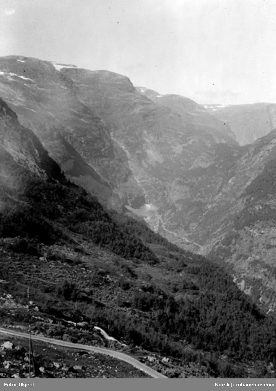 Utsikt mot Flåmsdalen