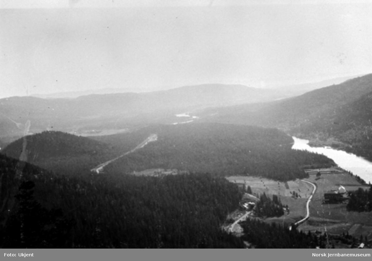 Utsikt fra Bergsundkollen sett sørover