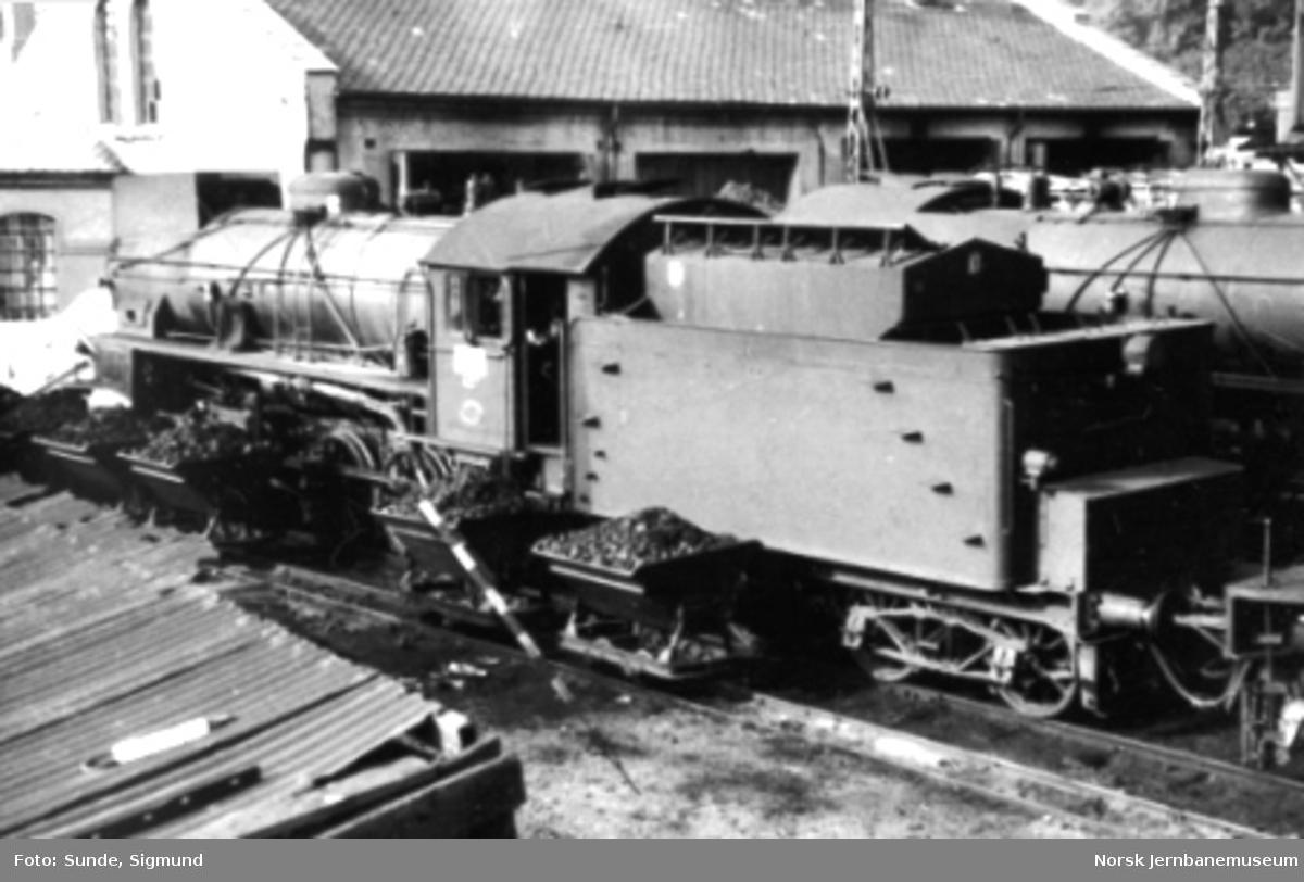 Damplokomotiv type 31b nr. 427