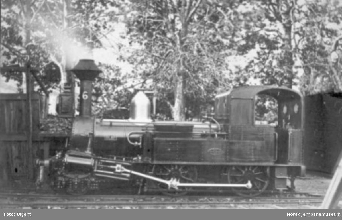 "Damplokomotiv type IV nr. 6 ""Olaf"""