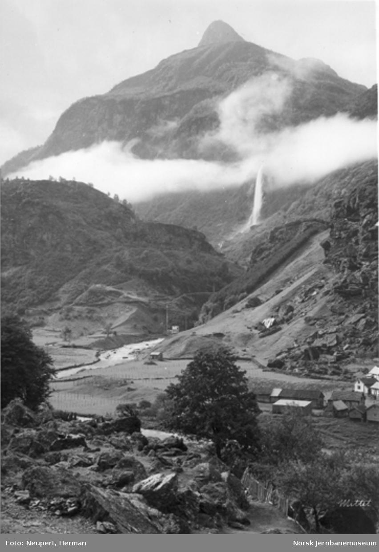Oversiktsbilde fra Flåmsdalen
