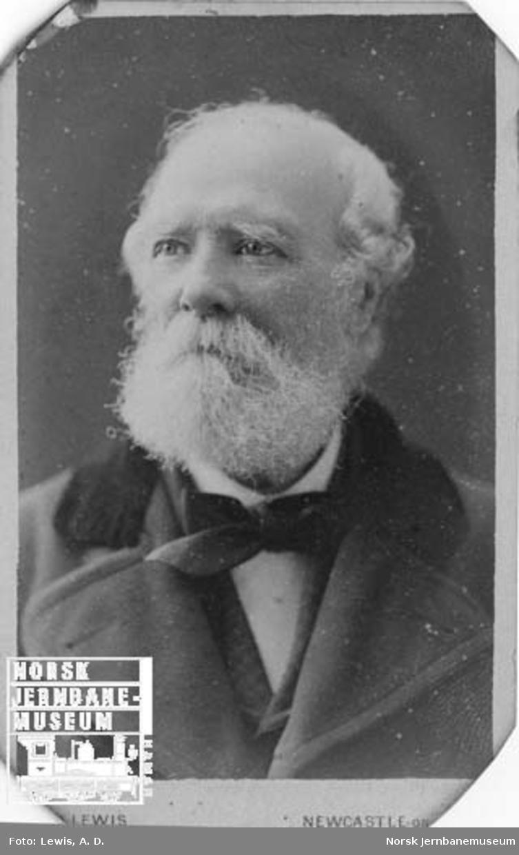 Hovedbanens første sjef for bane- og maskinavdelingen Wm. Fergusson