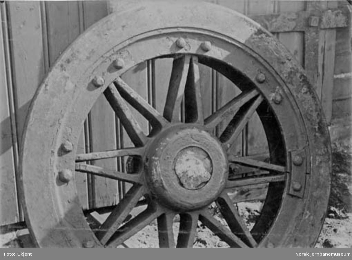 Jernbanehjul etter akselbrudd