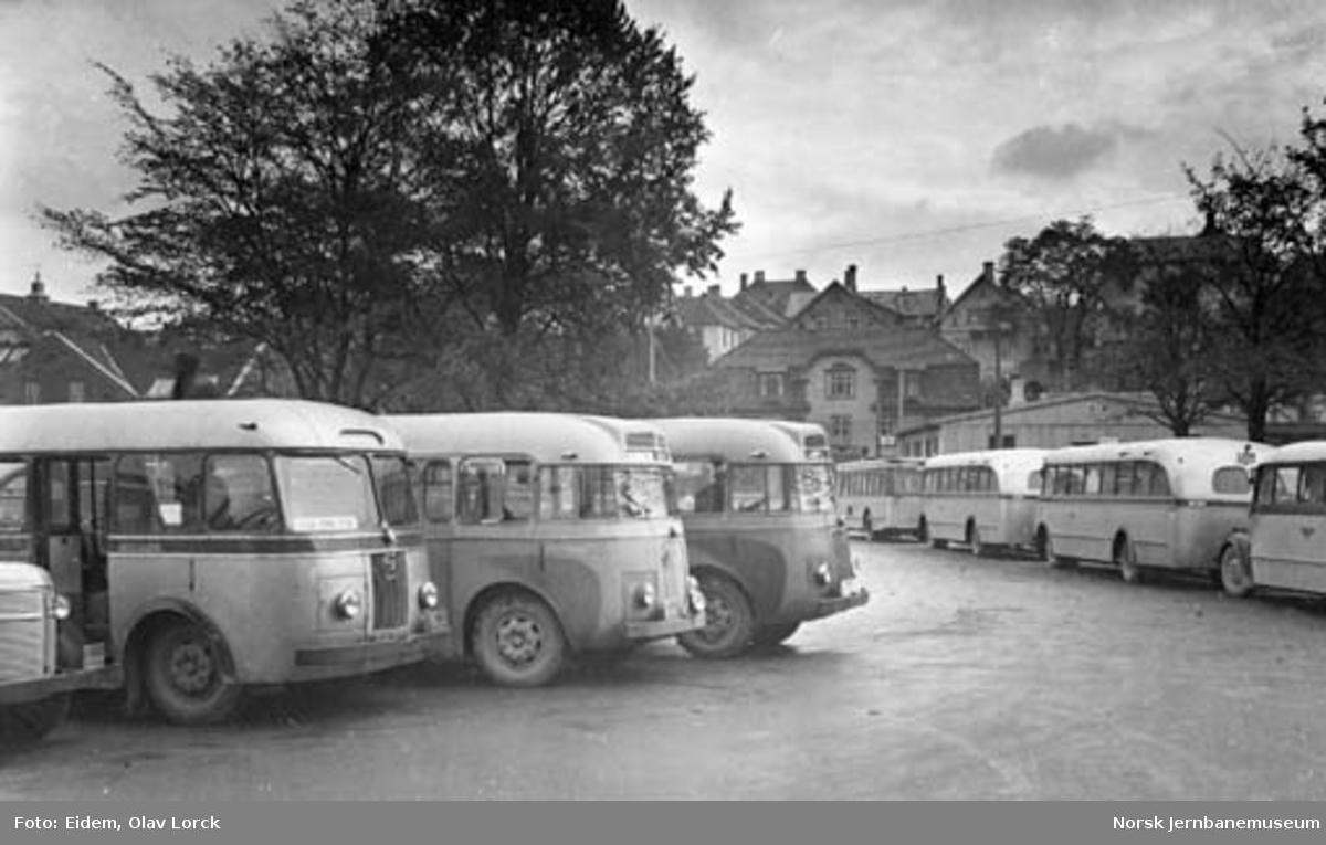 Busser fra NSB Bilruter i Stavanger