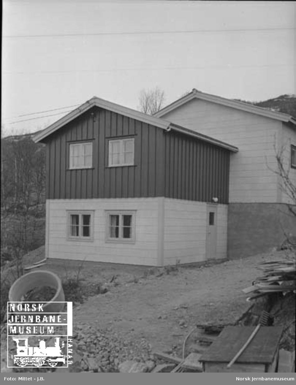 Lågendalsruten : garasjeanlegget på Geilo