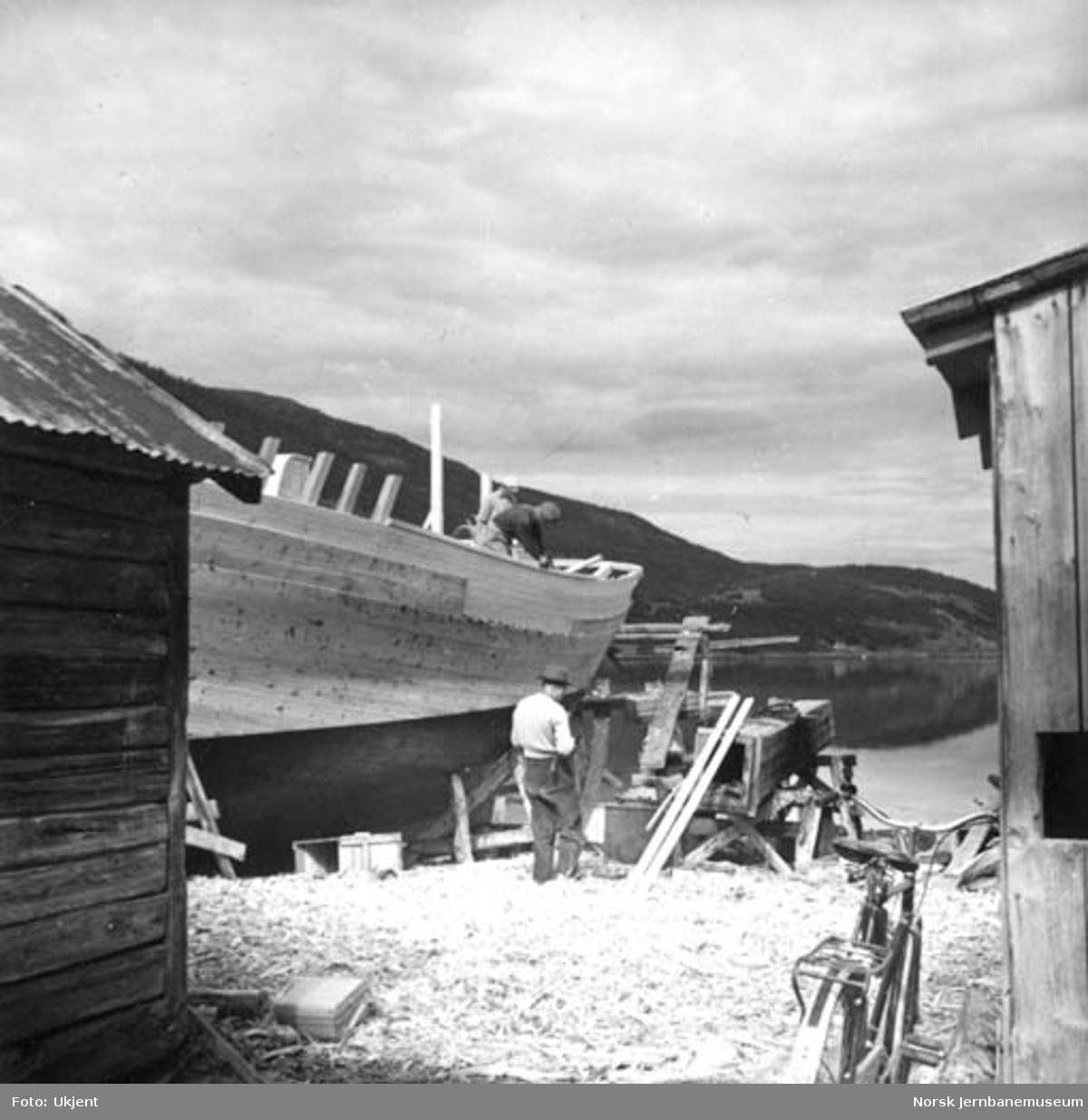 Båtbygging på Rognan