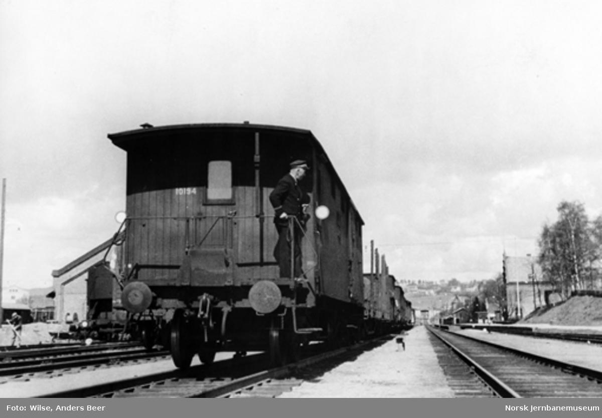 Godstog på Grefsen stasjon
