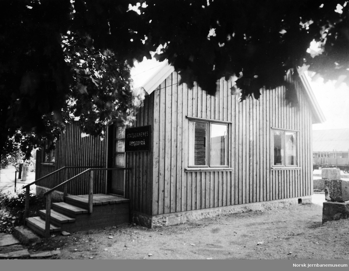 NSBs reisebyrå i Lillehammer