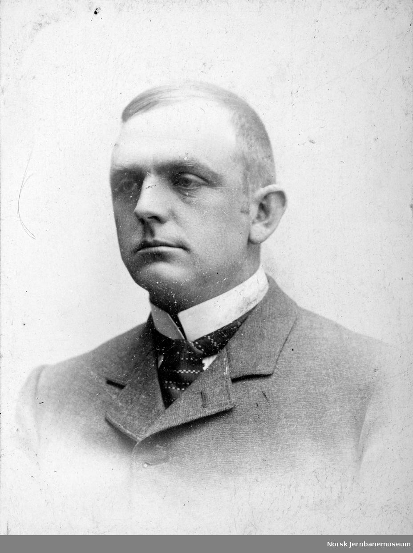 Portrett av disponent Einar Richter, LKAB 1910-1928