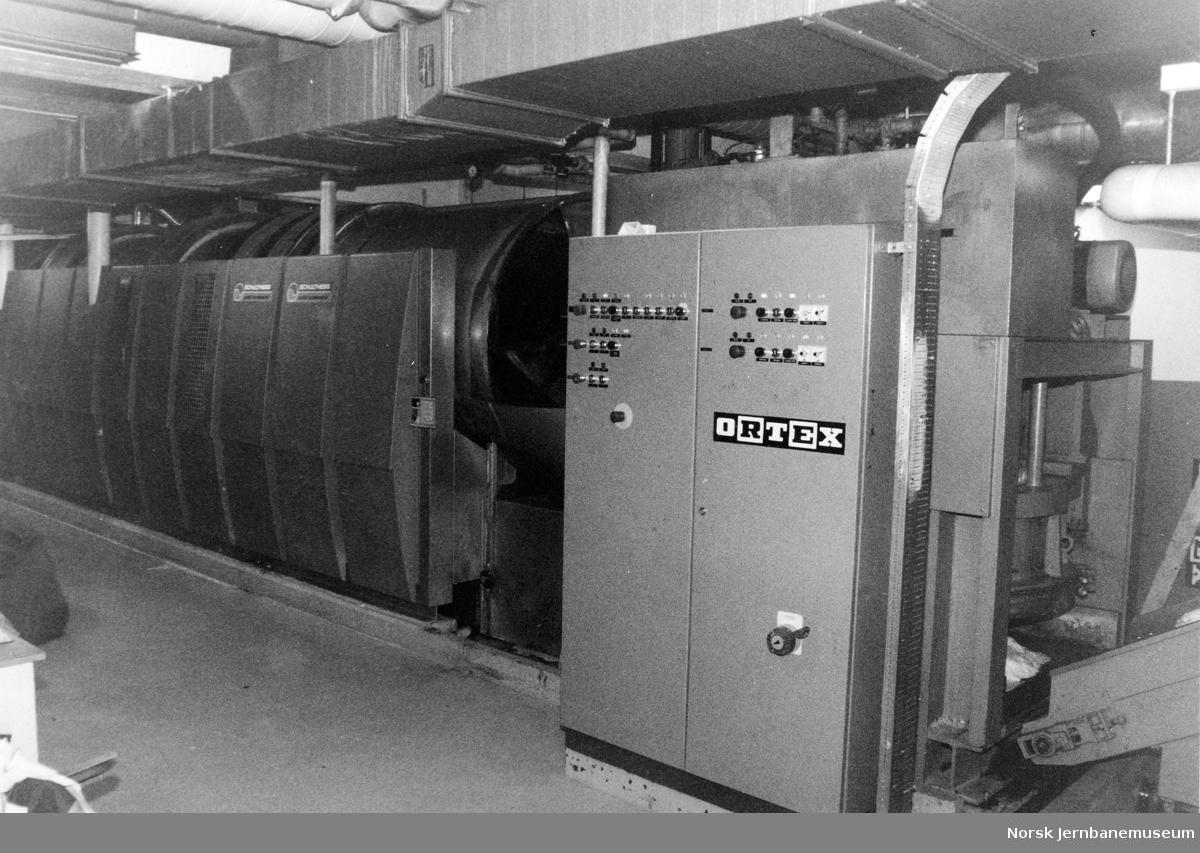 NSBs vaskeri i Lodalen, vaskerøret