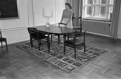 Serie. Danske spisestuemøbler. Fotografert 1965.
