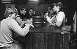 Storuman 1982. Ungdomsgård. Barnverksamhet i Filadefiakyrka