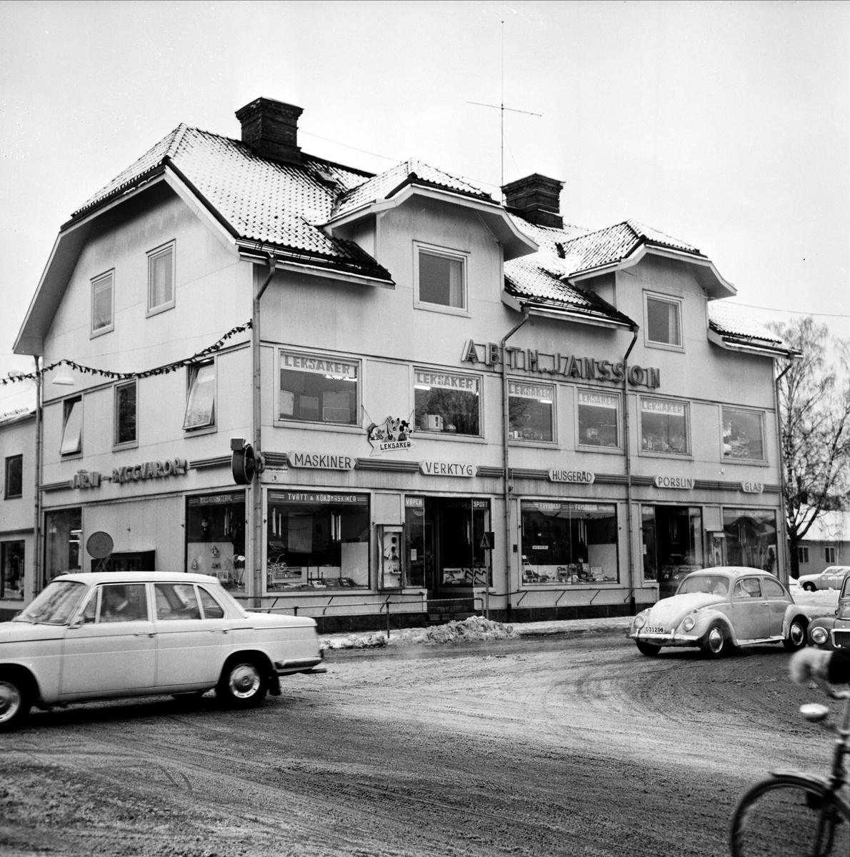 Järnaffären AB Th. Jansson, Tierp, Uppland 1967