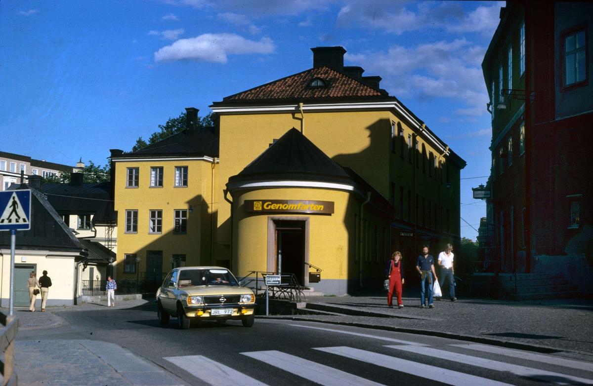 Gillbergska huset, kvarteret Holmen, Uppsala 1979