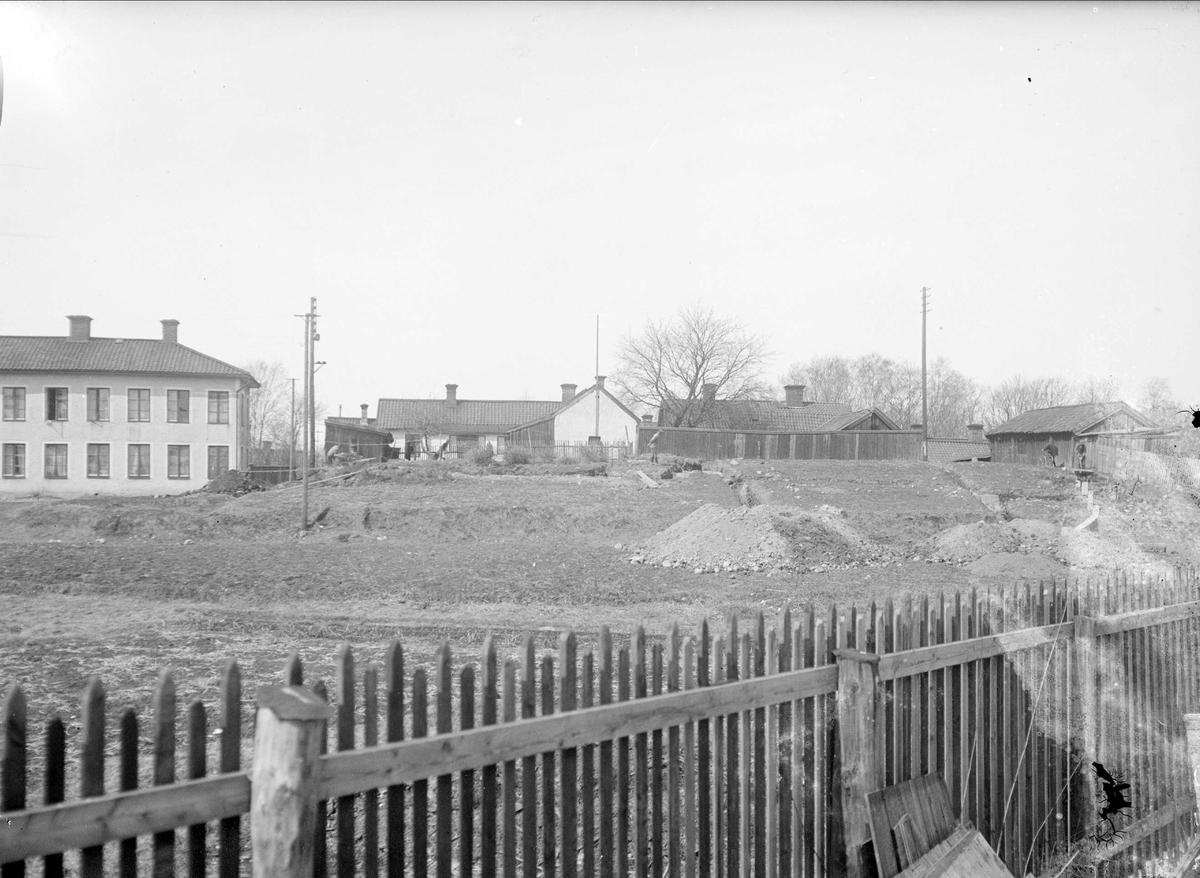 Arkeologisk undersökning av Gråbrödraklostret, Munksundet, Enköping 1929 - 1931