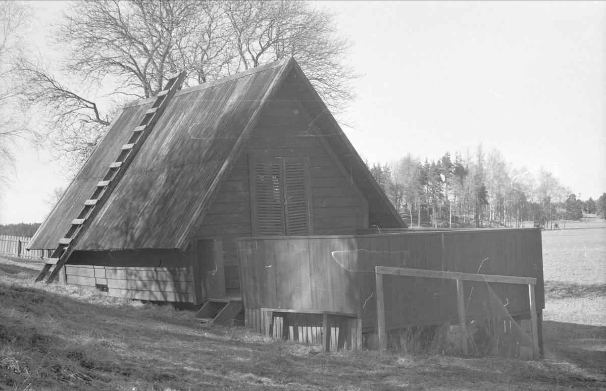 Stuga, Gränby 1:4 - 2:4, Ärentuna socken, Uppland 1977