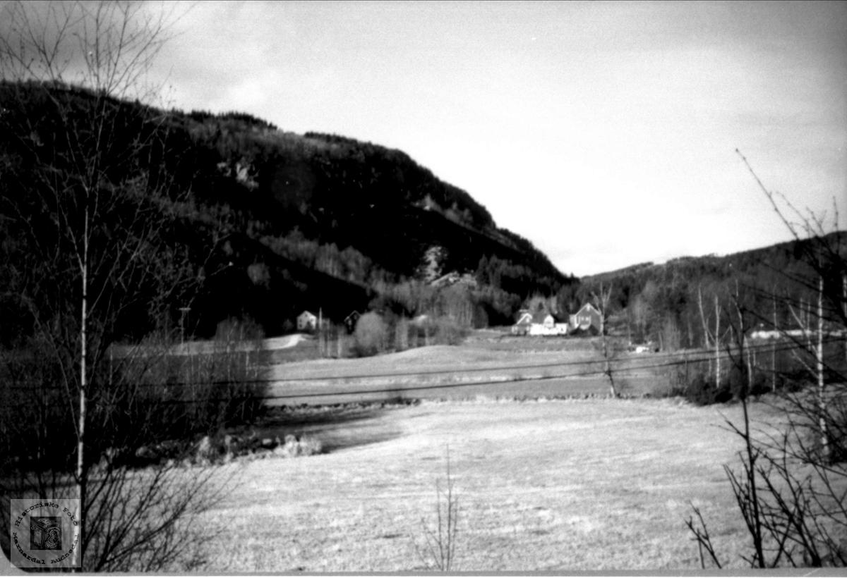 Landskap ytre Ågedal i Audnedal.