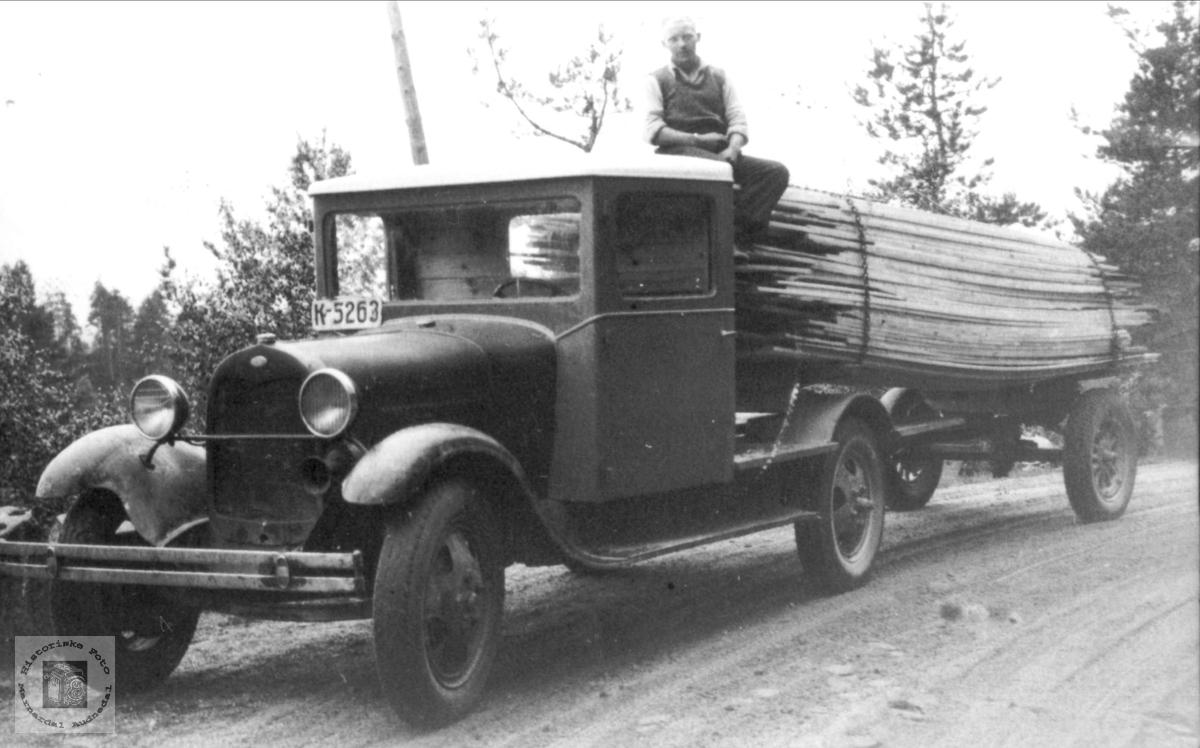Lastebil frå Verdalen, Laudal.