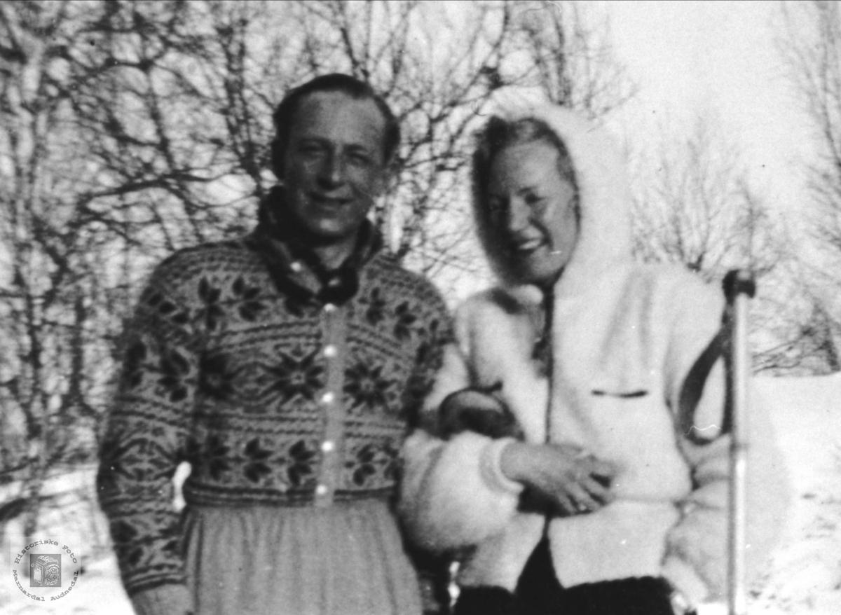 Presteekteparet Reidulf og Mina Wormdal, Øyslebø.