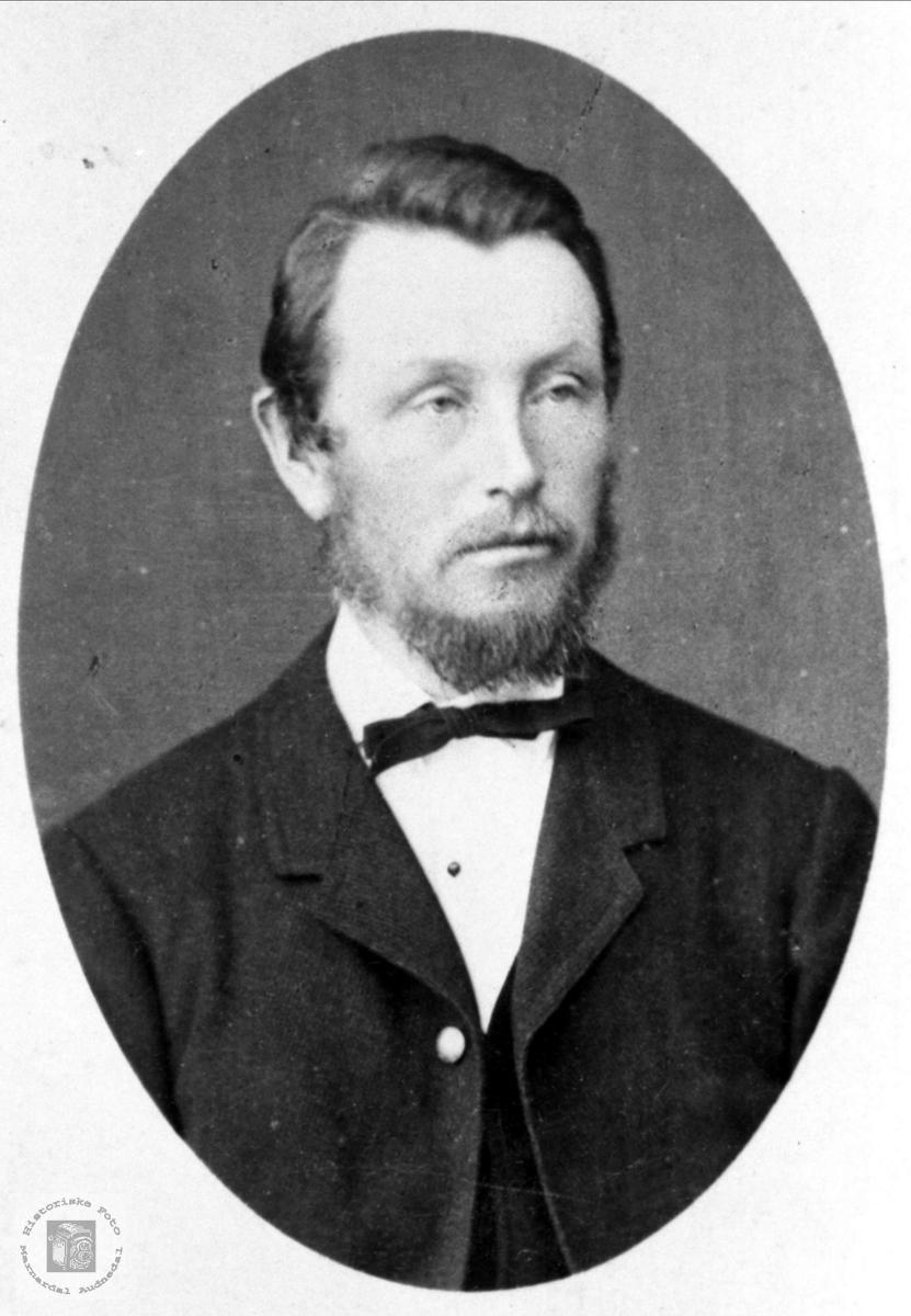 Portrett av Ole Glambekson Fuglestveit, Øyslebø.