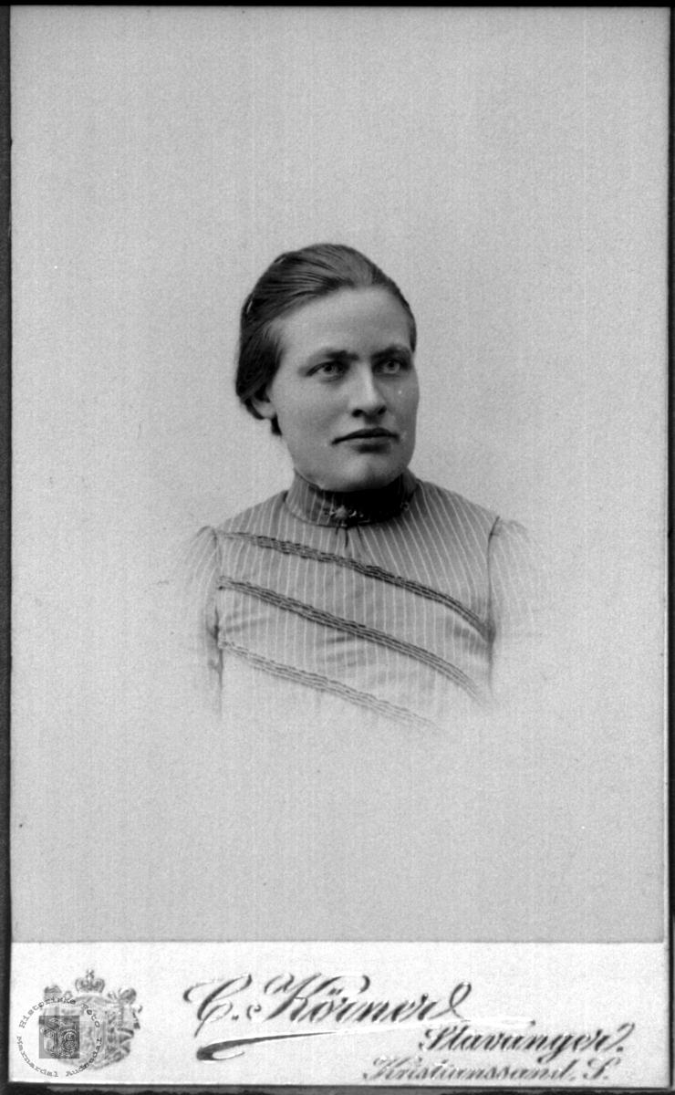 Portrett av Sofie Bruskeland