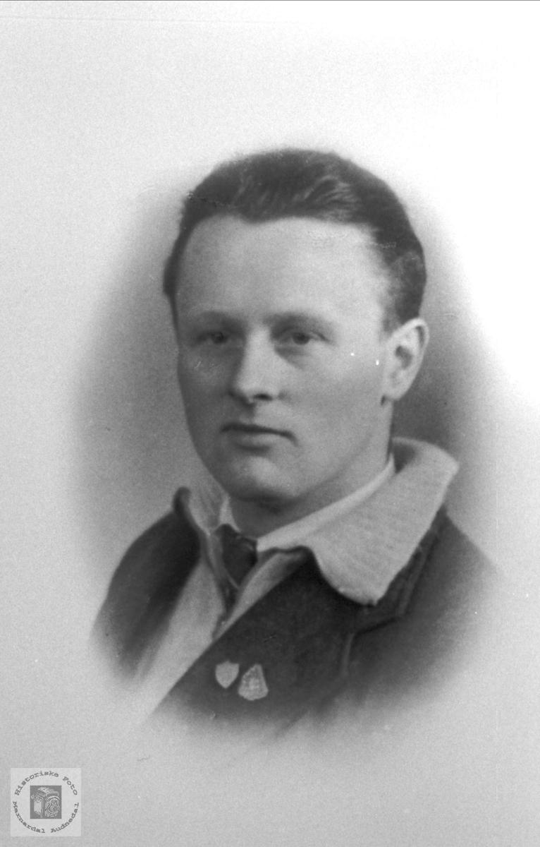 Portrett av Tomas Dagfinn Krossen