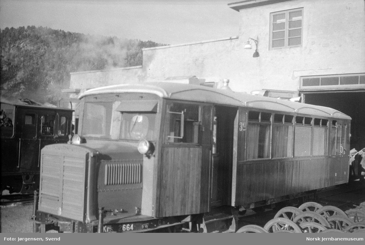 Setesdalsbanens motorvogn litra Cmb nr. 2664