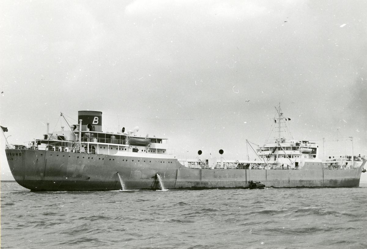 M/T 'Bjørgsund' (b.1953, Eriksbergs mek. Verkstads A/B, Göteborg).