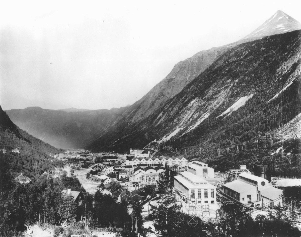 Rjukan Salpeterfabrikk i Vestfjorddalen