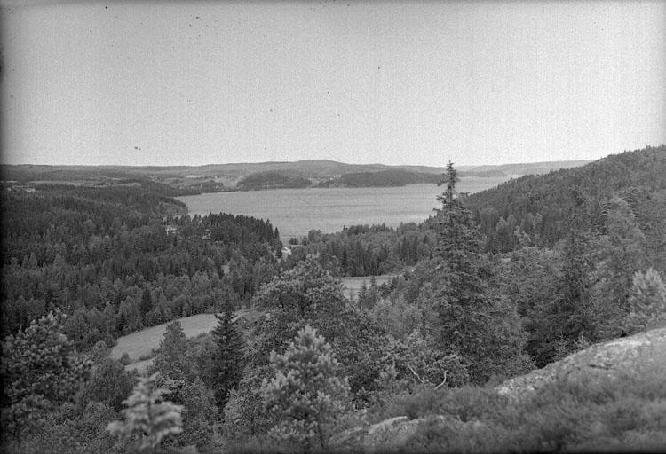 """Enligt AB Flygtrafik Bengtsfors: """"Bullaren Klageröd sjön Bullaren norrut Bohuslän""""."""