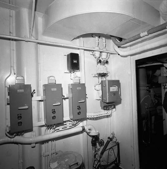 Bilder från utrymmen på fartyg 116-119, troligen från 116 S/S Vorkuta PT 57.