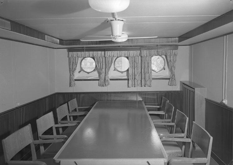 Fartygsinteriör från fartyg 126 M/T Aslaug Torm.