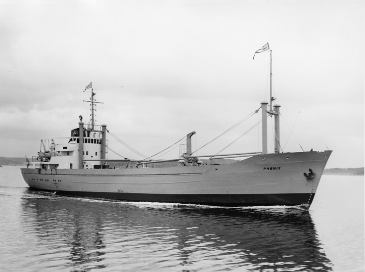 Middag i samband med provtur och leverans av fartyget 151 M/S Phönix.