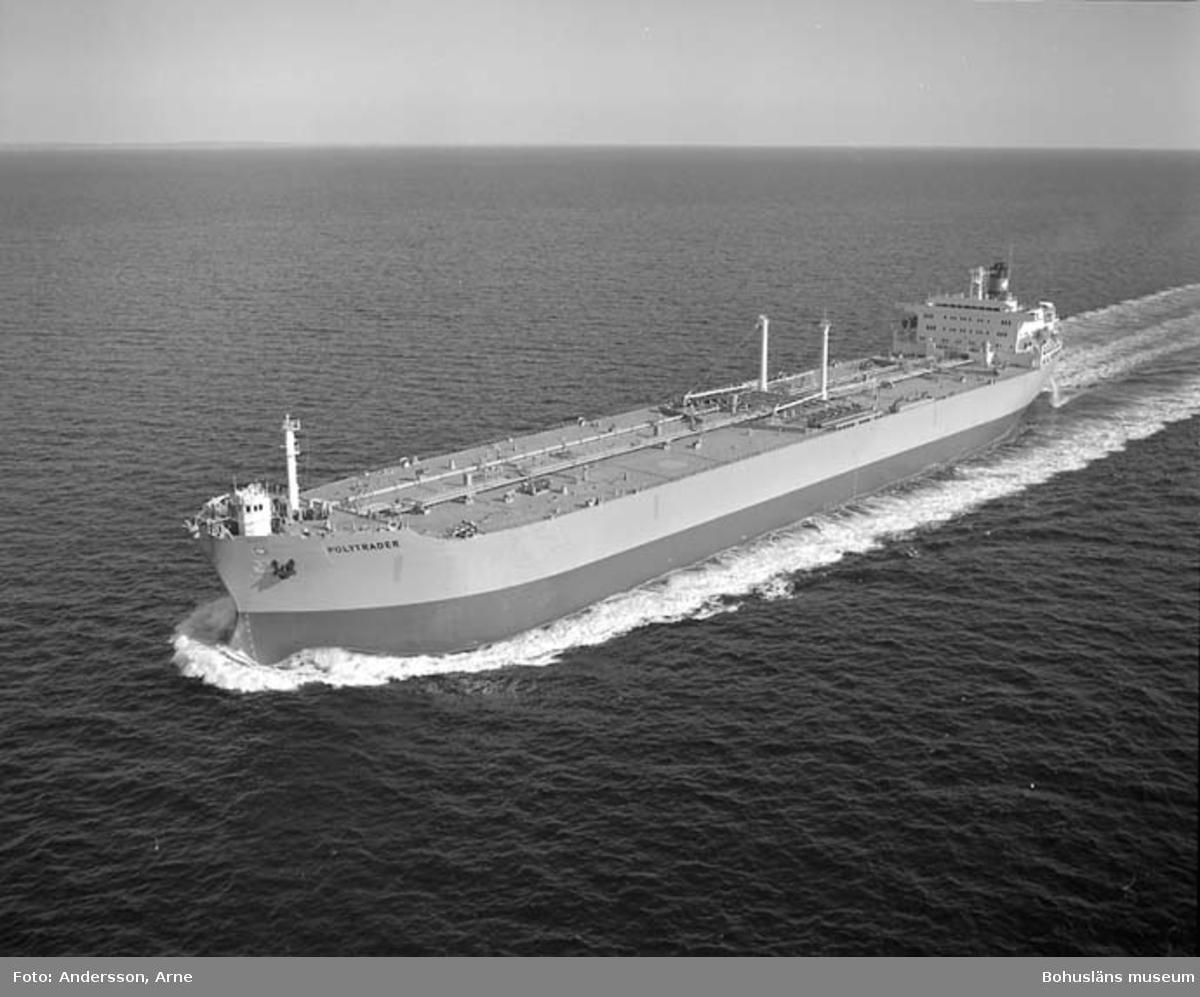 M/T Polytrader DWT. 127.700 Rederi Einar Rasmussen, Kristiansand Norge Kölsträckning 77-05-02 Nr. 302 Leverans 78-05-11 Tankfartyg.