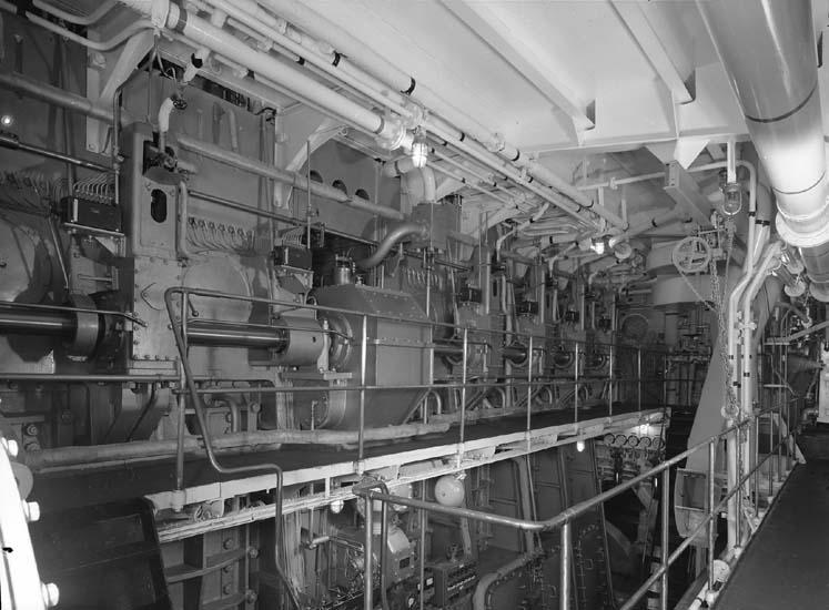 Maskinrum, fartyg