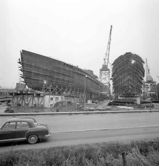 """Enligt notering: """"40.000 tonnare på U-a varvet 13/11 -58""""."""