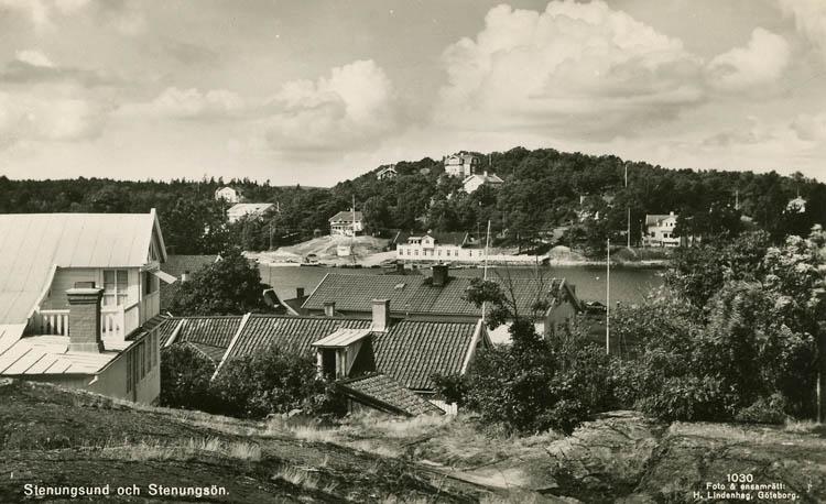 Stenungsund och Stenungsön.